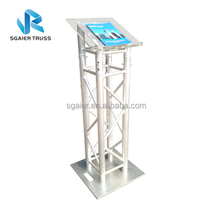 New Arrival Aluminum Truss Lectern for School Used