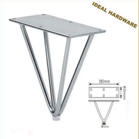 Metal Chrome Furniture Feet&Legs
