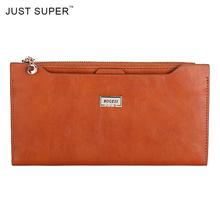 Hot Sale PU Leather Women Wallet 4 Colors Zipper Multifunction Long Wallets Ladies Clutch Handbag Cheap Coin Purse Card Holder