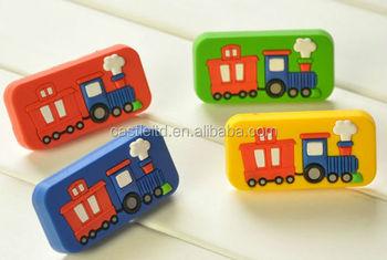 Knob With Pattern Thomas Train,kids Furniture Handles