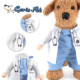 Funny Dog Doctor Costume Pet Clothes for Rabbits