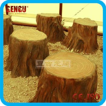 decorative artificial fiberglass tree stumps - Tree Stumps For Sale