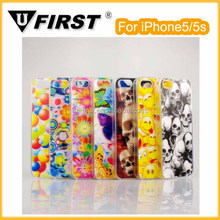 Newest sense colorful for iPhone5/5s plastic case