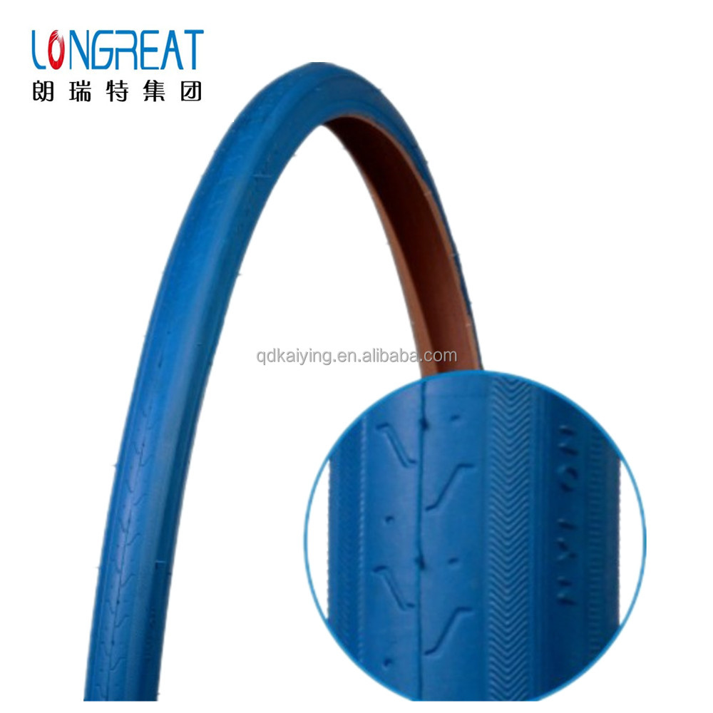 blue tyre 700*23C 700*25C 700*35C 700*38C BMX colored bicycle tyre