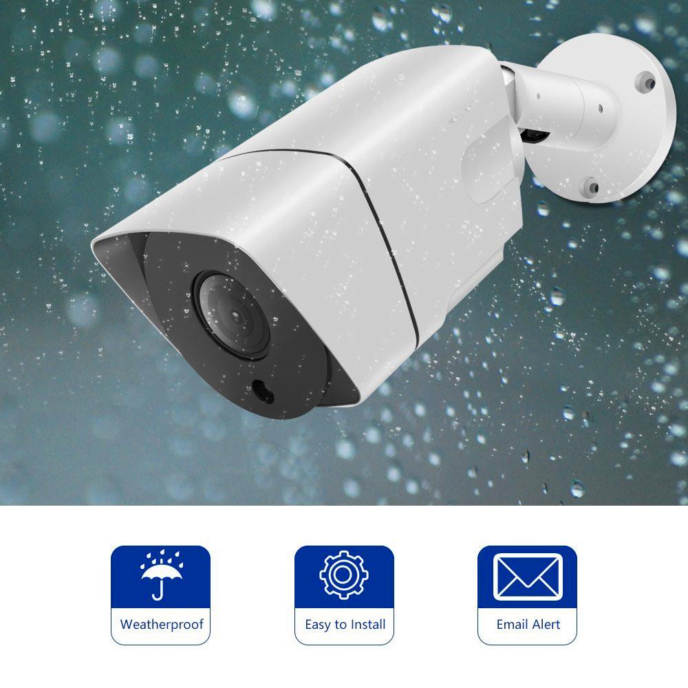 8CH HD 1080P night vision AHD CCTV Security camera System