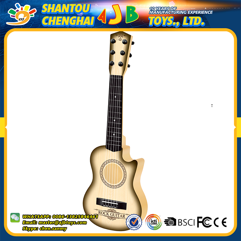 China manufacturer educational plastic toy mini guitar for sale
