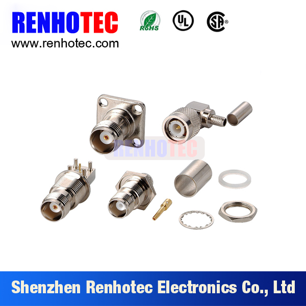 New hot Dosin Rf connector series F TNC N Connector for cable and PCB