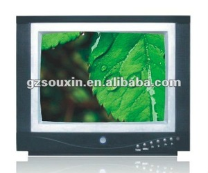 25-inch Ultra Slim CRT TV with Built-in FM Radio Function