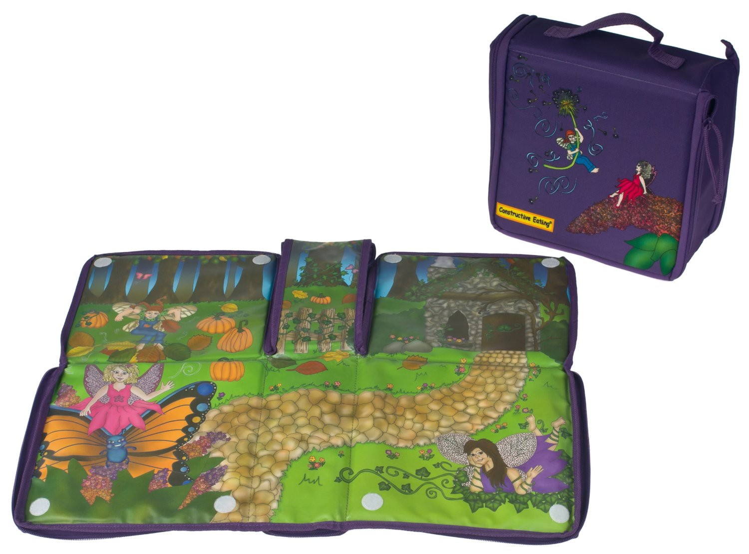 Constructive Eating - Garden Fairy Transforming Lunch Tote