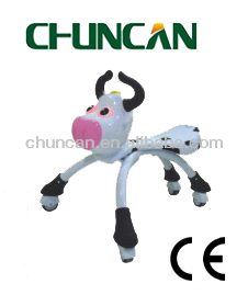 Dairy cow shape s Bicycles Foot Scooter Kick Scooter,twist car for children ride on