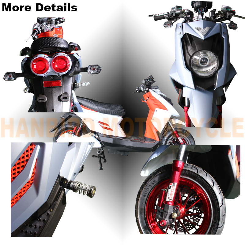 3000w High Power Electric Scooter Motorcycle with 72v Battery