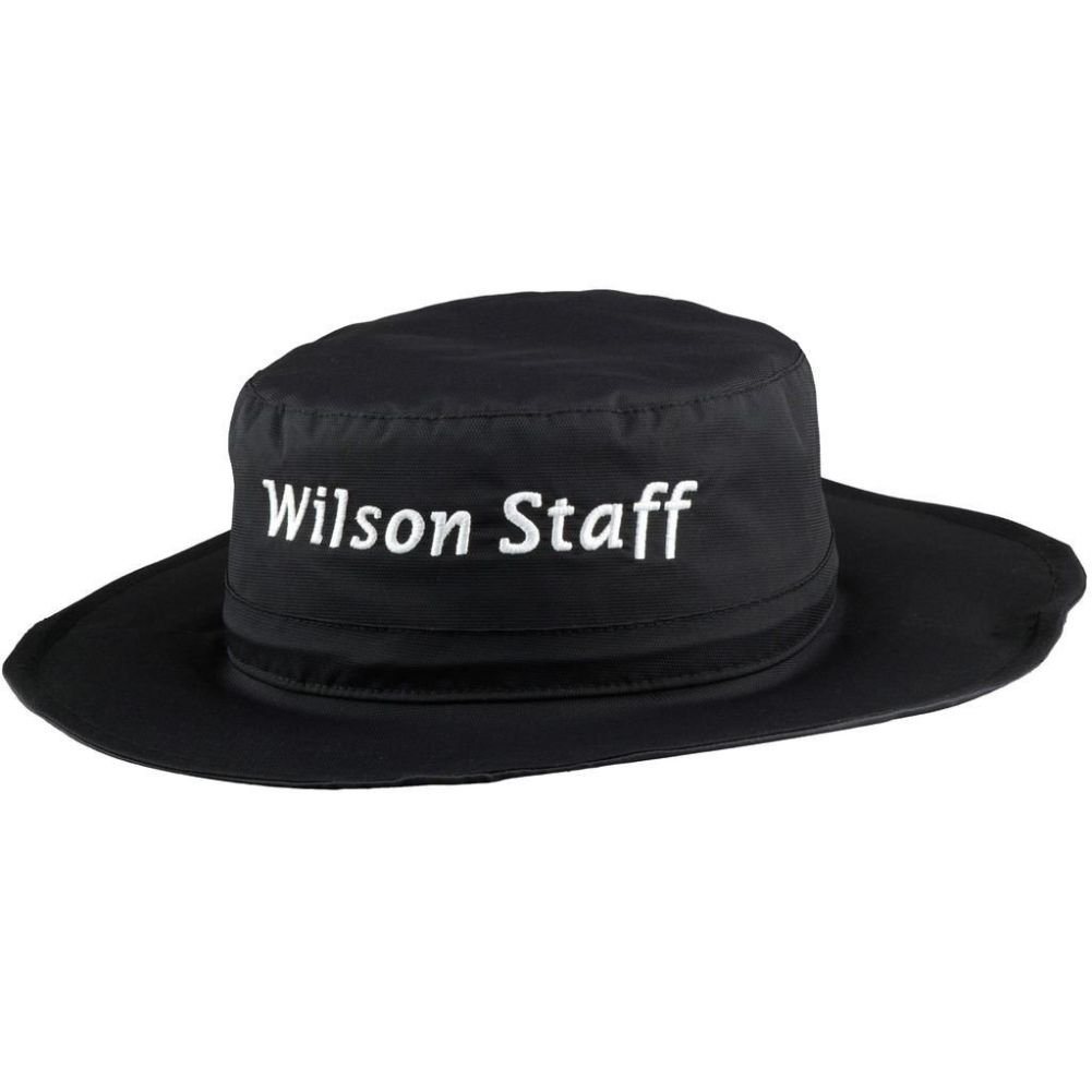 6d6eefb3 Get Quotations · 2015 Wilson Staff Mens Adjustable Rain Bucket Hat Black