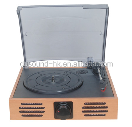 customized wholesale vinyl record player with technics turntable