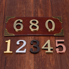 Apartment Door Number, Apartment Door Number Suppliers And Manufacturers At  Alibaba.com
