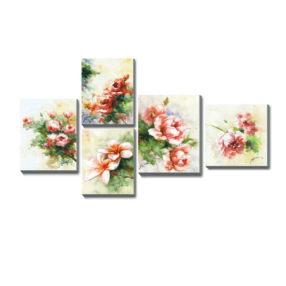 Hot Hand Wall Art Rose Pop <strong>Pictures</strong> Painted Painting Flowers