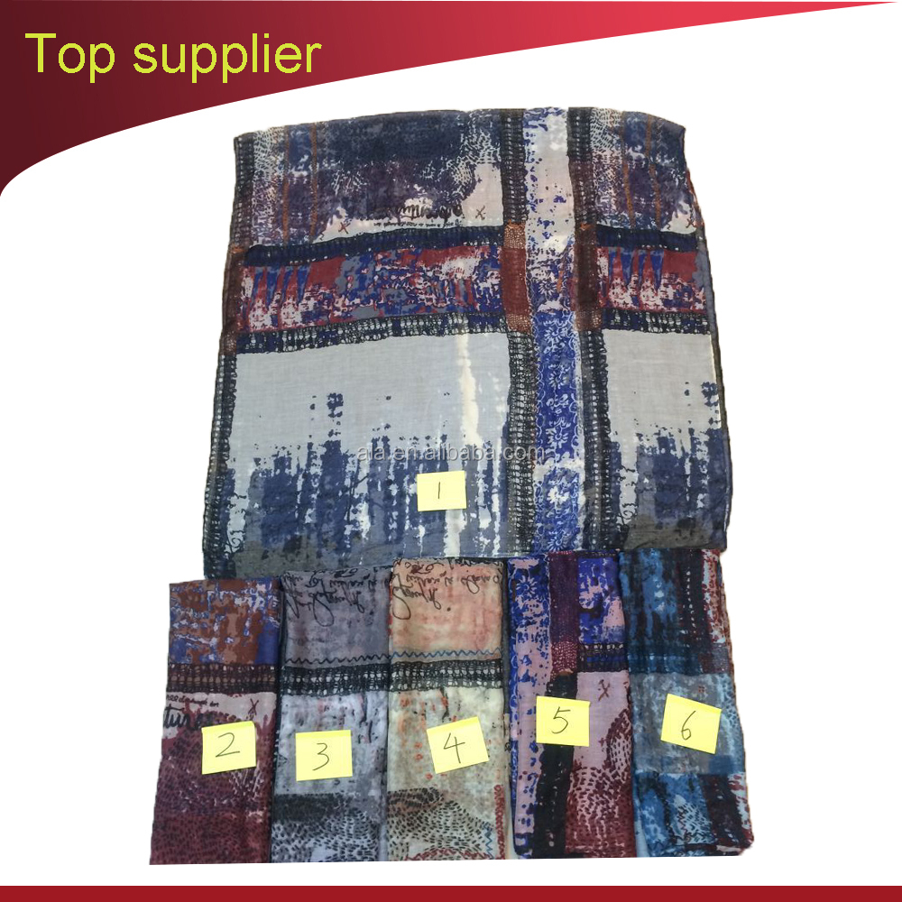 Directly Factory Free sample Printing 100% Pure voile 90cm Square Silk Ladies Scarf