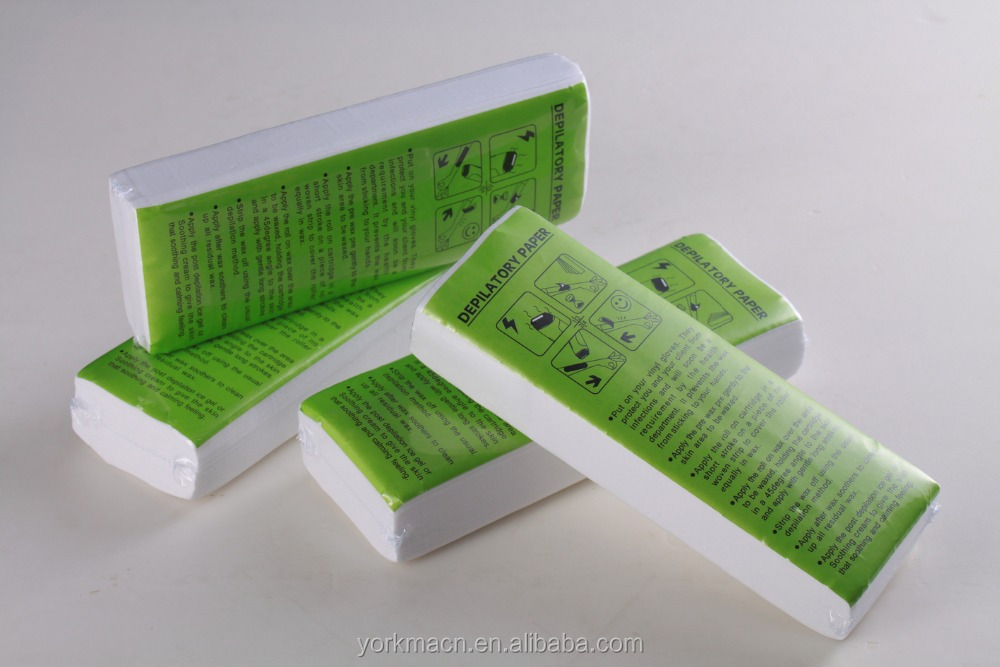 Disposable waxing paper strips hair removal wax paper depilatory special paper