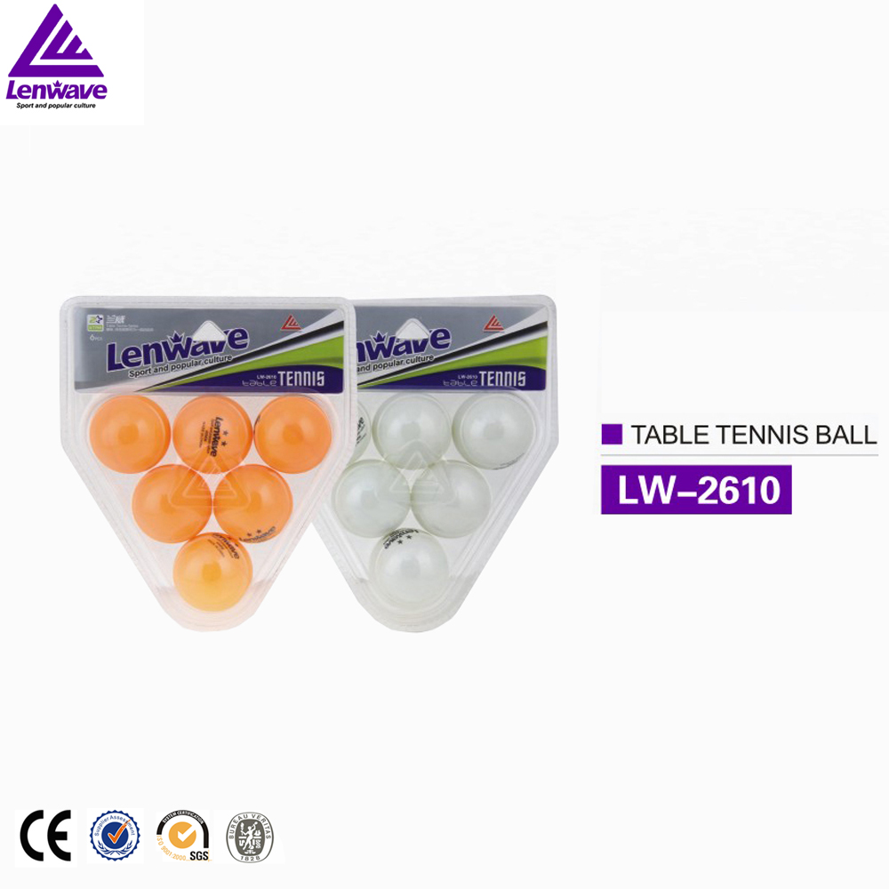 Wholesale color xylonite 2 star ping pong ball
