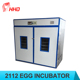 2112 eggs YZITE-15 CE professional automatic chicken egg hatching machine nepal for sale