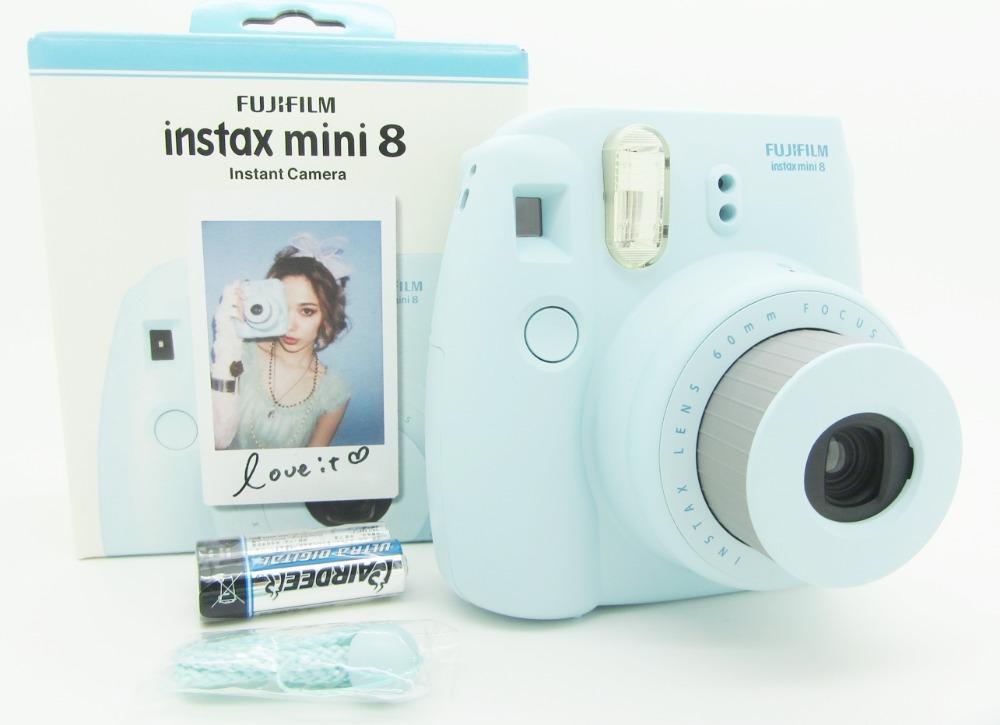 fuji mini 8 camera fujifilm fuji instax mini 8 instant film photo camera new 5 colors white pink. Black Bedroom Furniture Sets. Home Design Ideas