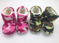 WHOLESALE UNISEX WINTER FANCY SOFT SOLE BABY INDOOR WARM SHOES