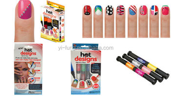 Hot design nail art pens 2 colors in one 6 basic beauty colors hot design nail art pens 2 colors in one 6 basic beauty colors polish prinsesfo Images