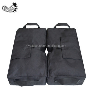2 Detachable Umbrella Base Weight Bags Ergonomic Stand Add On For All Outdoor Patio Umbrellas