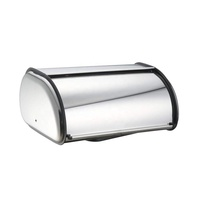 Home Brushed Stainless Steel Bread Box Food Storage Bin
