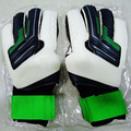 2015 Top Latex Goal keeper Gloves With Fingerstall Professional Game Goalkeeper Gloves Guantes Luvas De Goleiro