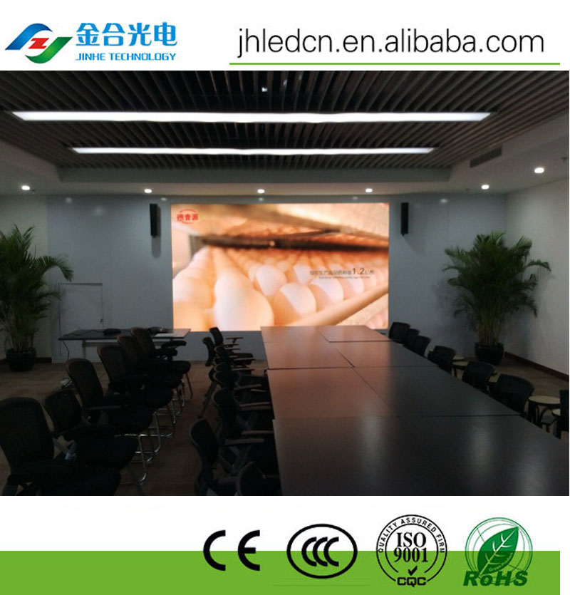 P7.62 SMD RGB AdvertisingLED Video Display Indoor/jinhe led display best quality P7.62 indoor led
