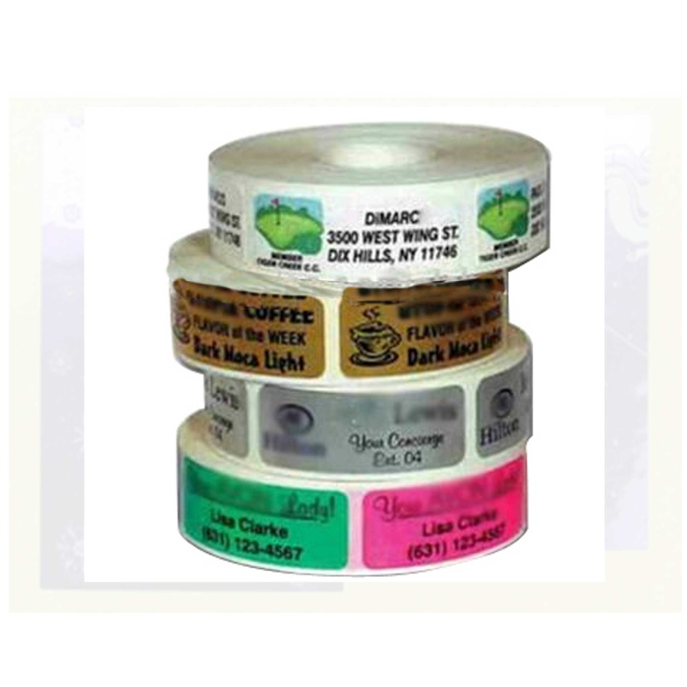 Latest design customm hot sell self adhesive labels in roll