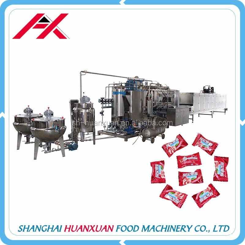 Hot Sale Stainless Steel Hard Candy Making Plant