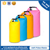 Colorful waterproof PVC bag, outdoor fashion backpack