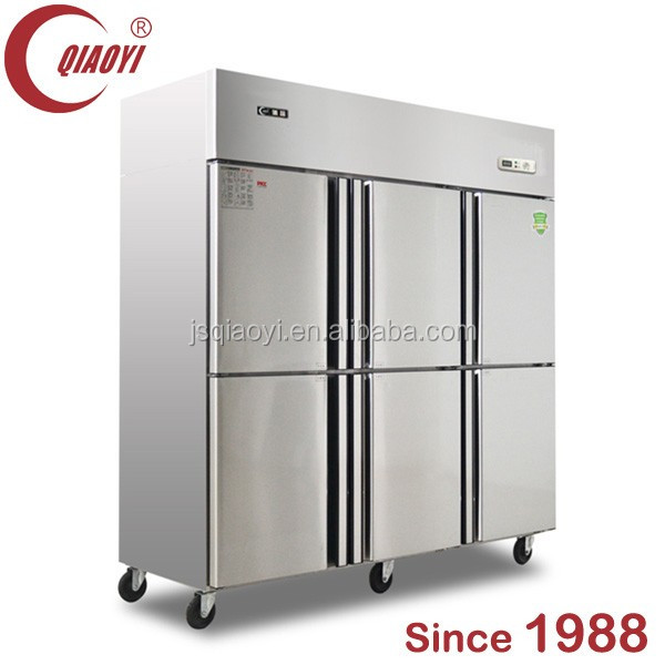 QIAOYI C2 copper pipe upright cabinet freezer