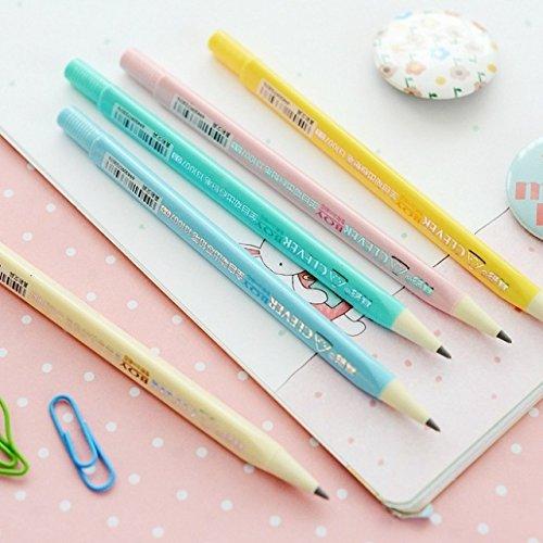 Katoot@ 12 pcs/lot Cute 0.5mm/0.7mm Mechaincal pencil Kawaii Write constantly pencils Korean stationery lapis de cor school supply zakka