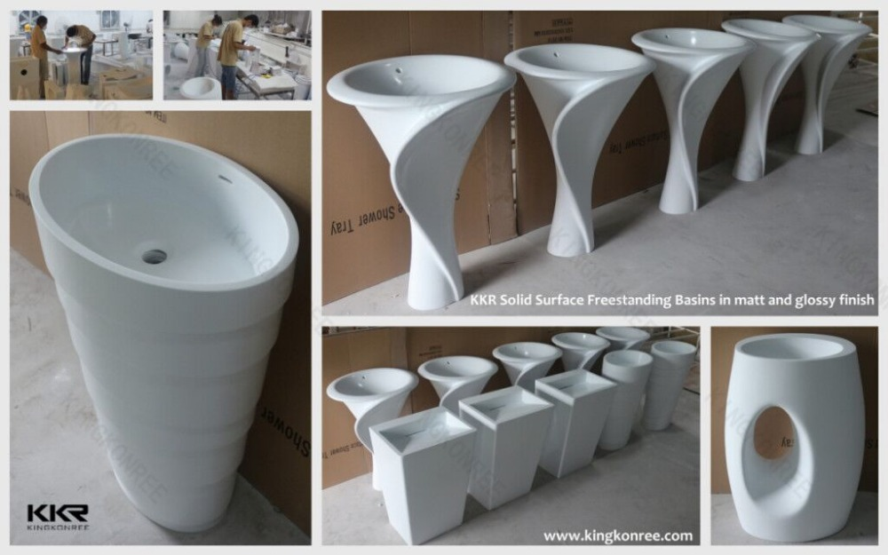 Solid Surface Wash Bowls,Solid Surface Acrylic Vanity Sinks,Solid ...