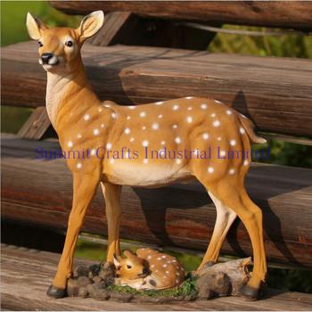 Outdoor Deer Statues For Garden Sculpture