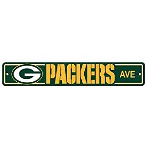 Fremont Die 92316 Green Bay Packers Plastic Street Sign