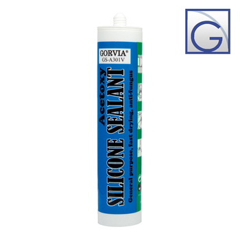 Fast cured acetic silicone sealant