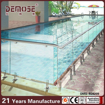 Invisible Frameless Glass Swimming Pool Fence Buy Temporary Swimming Pool Fence Tempered Glass