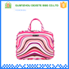 Wholesale high quality color polyester hanging toiletry bag