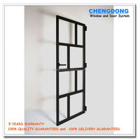 Latest design sliding patio blinds fiberglass entry doors with insect screen