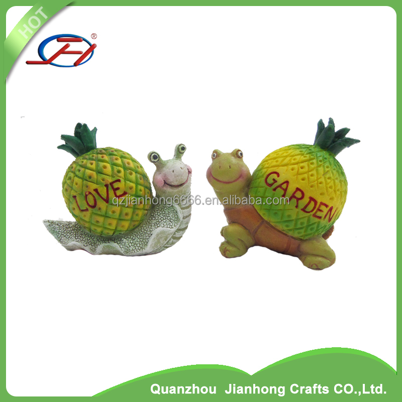 animal garden statues polyresin decoration crafts resin