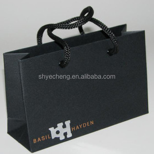 fashionable luxury xmas decorative paper shopping gift bags manufacturer