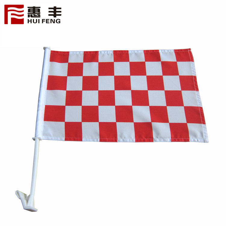 Logo Printed Promotional Economy Car Flag ,The Window Of The Flag