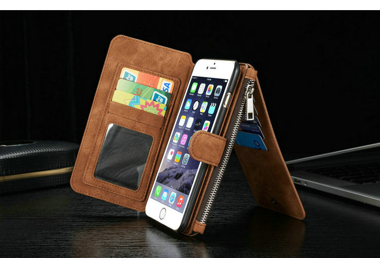 hot fashion flip wallet for iphone 6s plus case,vip cell phone cover