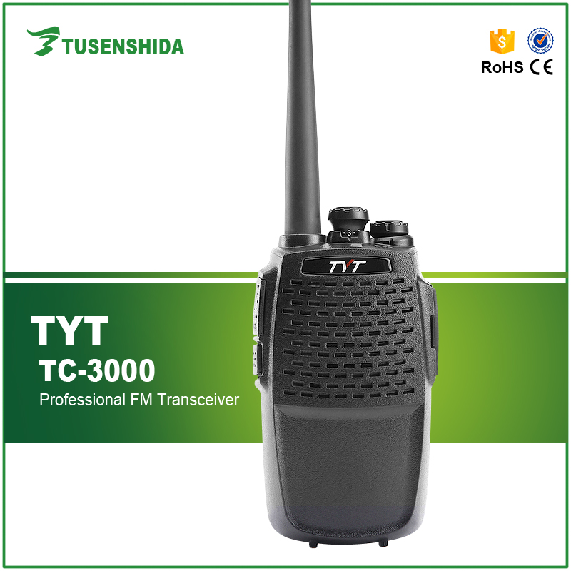 China Supplier Single Band TYT TC-3000 8W UHF 400-470MHz Ham Two-Way Radio Long Range Walkie Talkie Walkie online shipping
