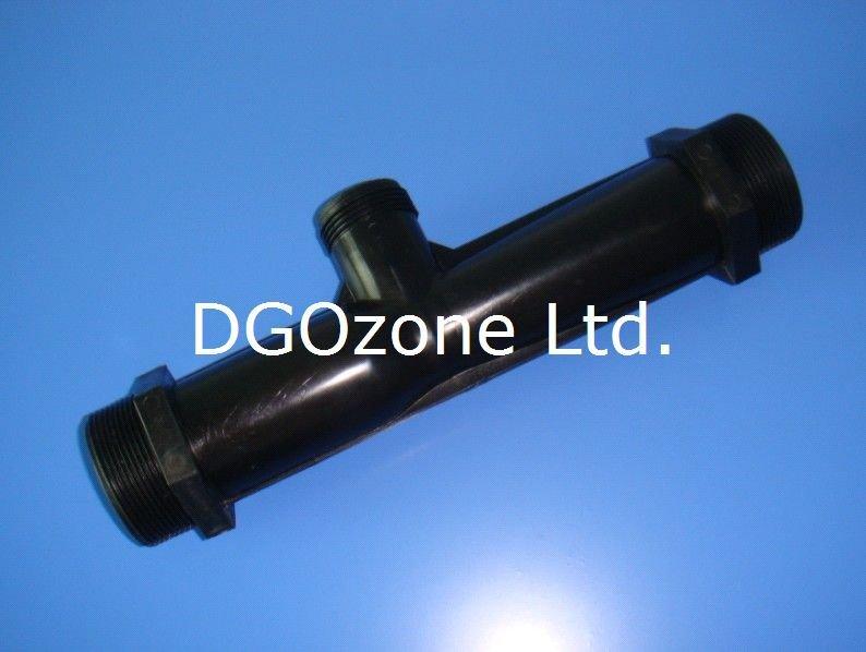 Ozonator injector venturi voor spa zwembad ozon venturi for Koi pond venturi