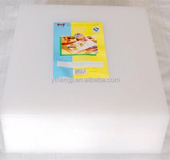 Large Rectangular Ldpe Plastic Cutting Board