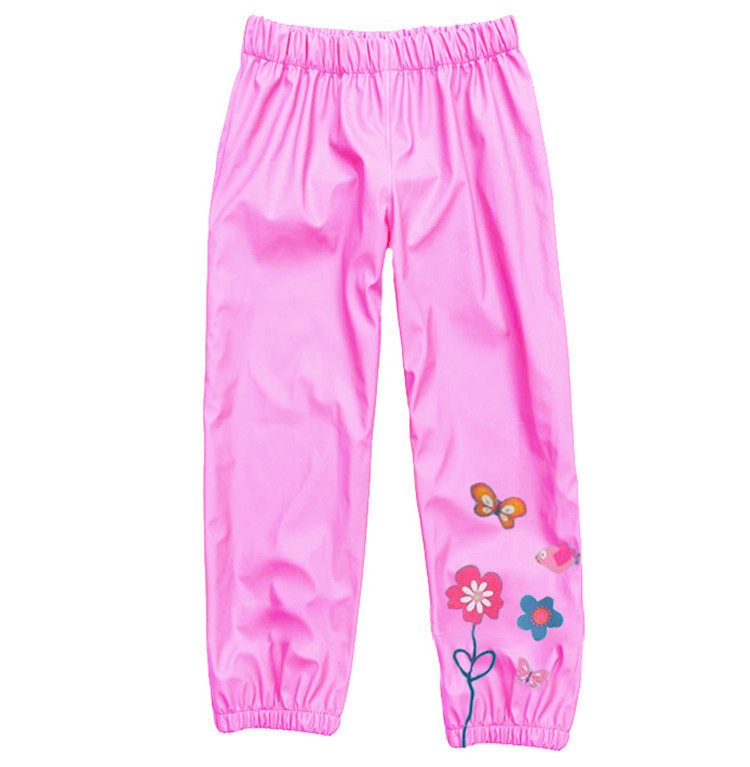 2015 Children Baby Girls Flowers Pants Kids Babe Pants Kids Girls Wind And Rain Trousers Pants Spring Autumn Winter New Brand